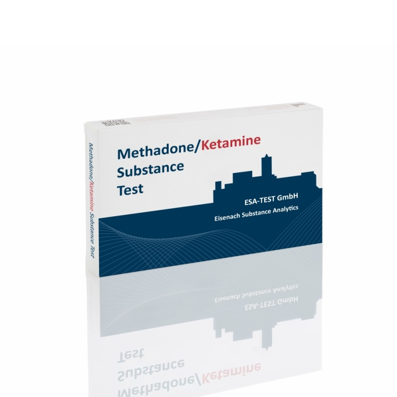 ESA Methadone/Ketamine Substanztest 10 Ampullen