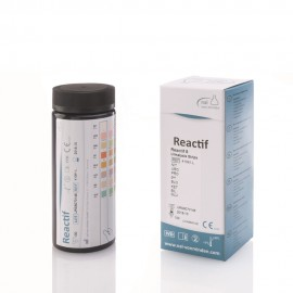 Reactif 8 urine analysis strips 100 tests