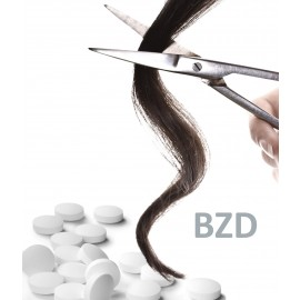 FORENSIS análise cabelo GC/MS Benzodiazepines 1
