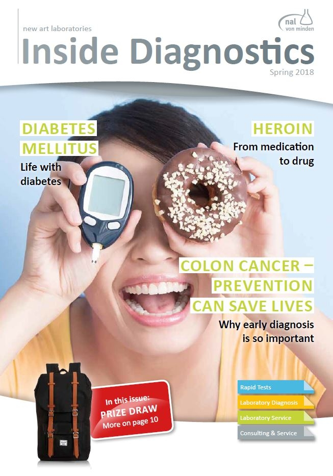 The actual cover of the Inside Diagnosics Magazine