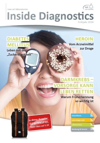 Das Kundenmagazin Inside Diagnostics