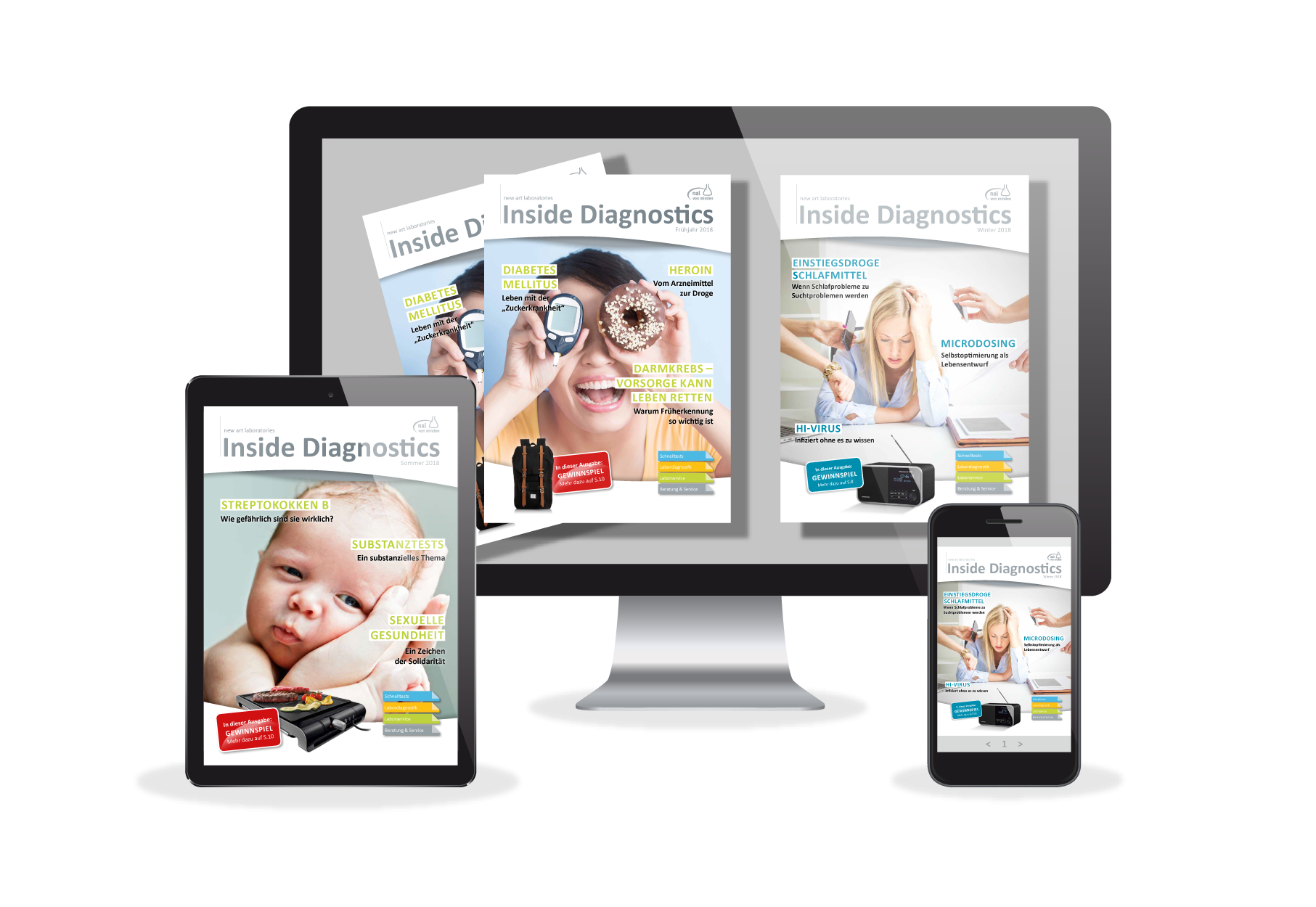 Inside Diagnostics - Your customer magazine!